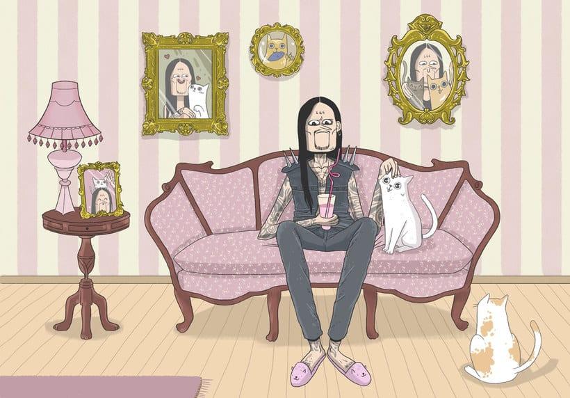 Talento y humor en las ilustraciones de EFE 3