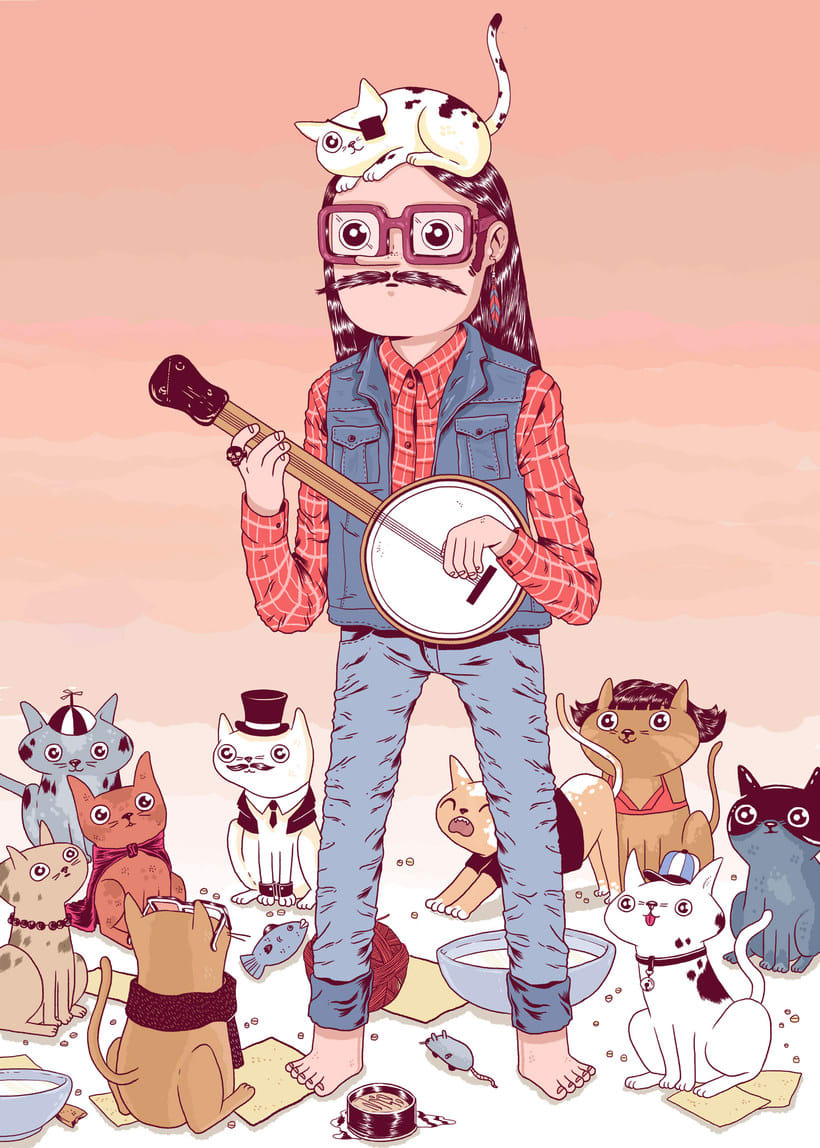 Talento y humor en las ilustraciones de EFE 7