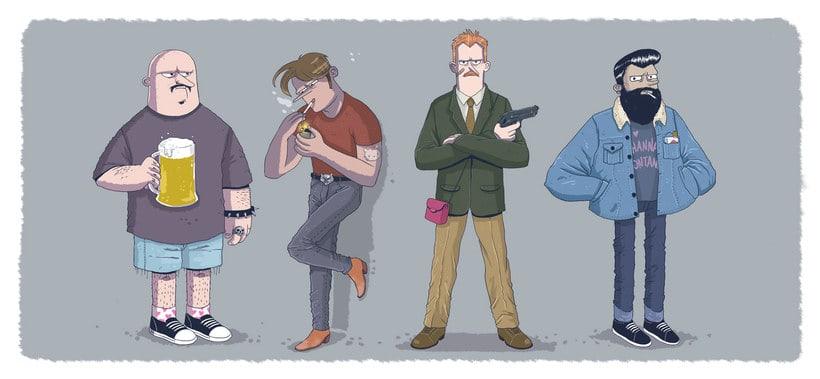 Talento y humor en las ilustraciones de EFE 8