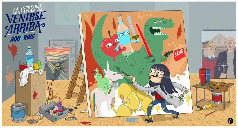 Talento y humor en las ilustraciones de EFE 10