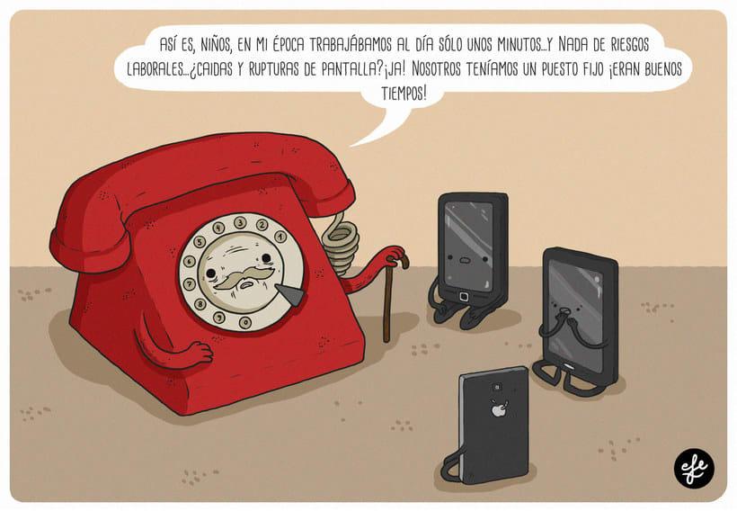 Talento y humor en las ilustraciones de EFE 11