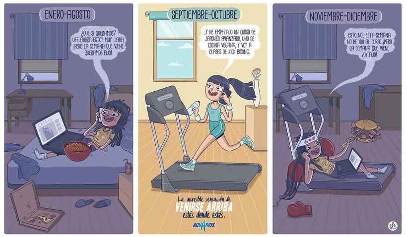 Talento y humor en las ilustraciones de EFE 16