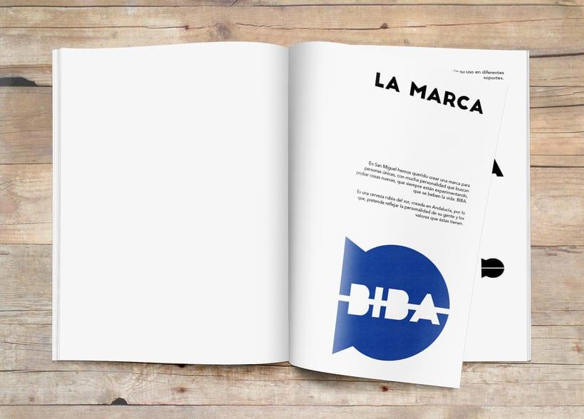 Imagen corporativa cerveza BIBA 3