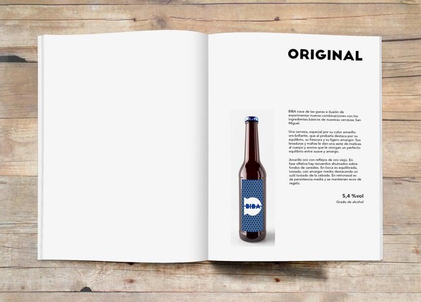 Imagen corporativa cerveza BIBA 8