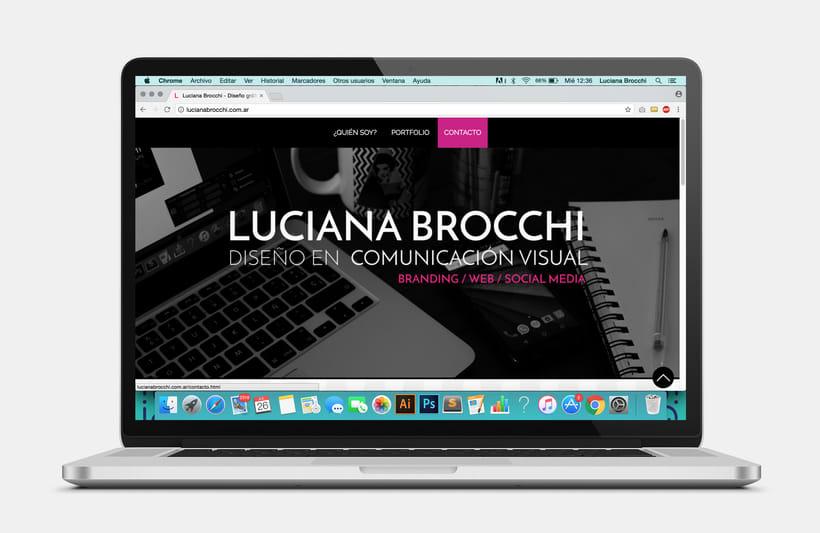 Diseño y Desarrollo de mi sitio web 0