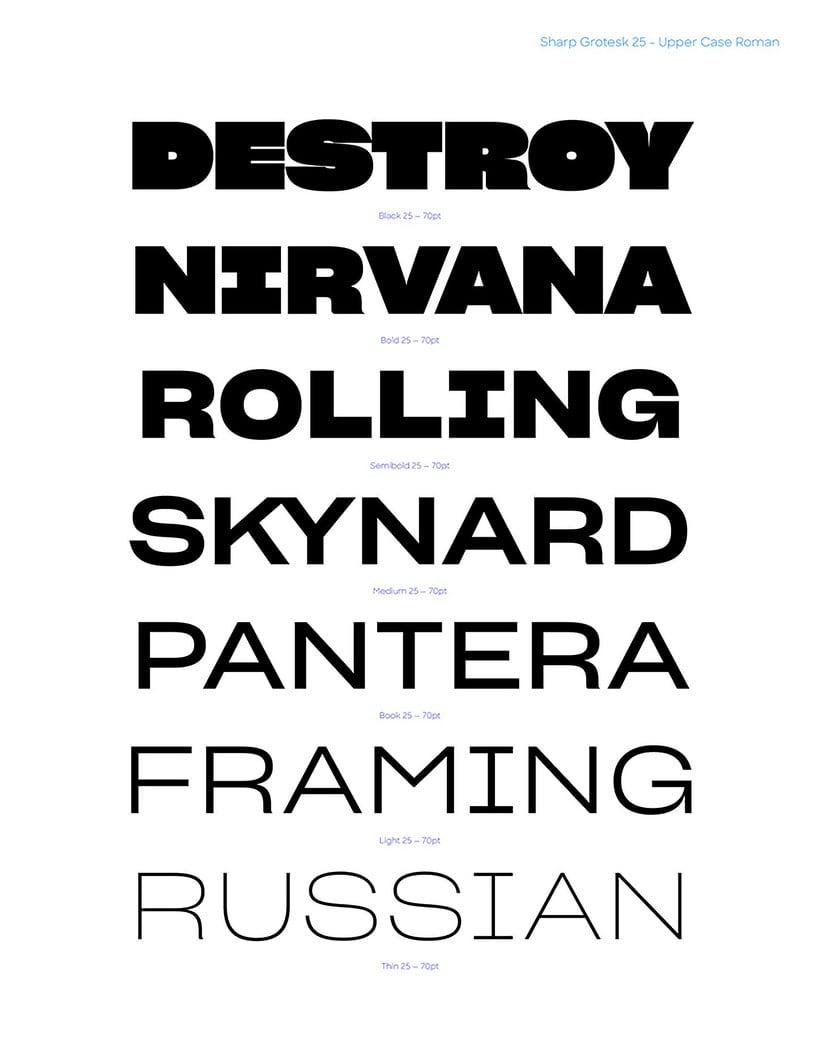 Las mejores tipografías del año según The Type Directors Club 12