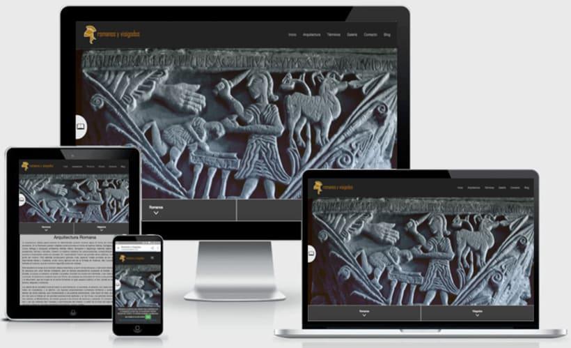 Página web Romanos y Visigodos ( lanzamiento de un nuevo libro) -1