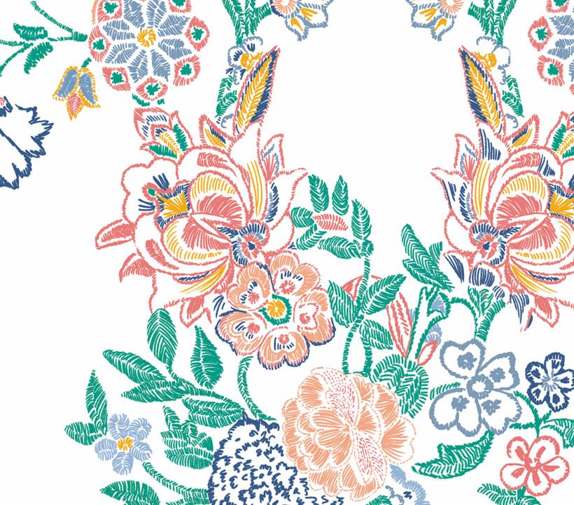 zara woman surface pattern design 0