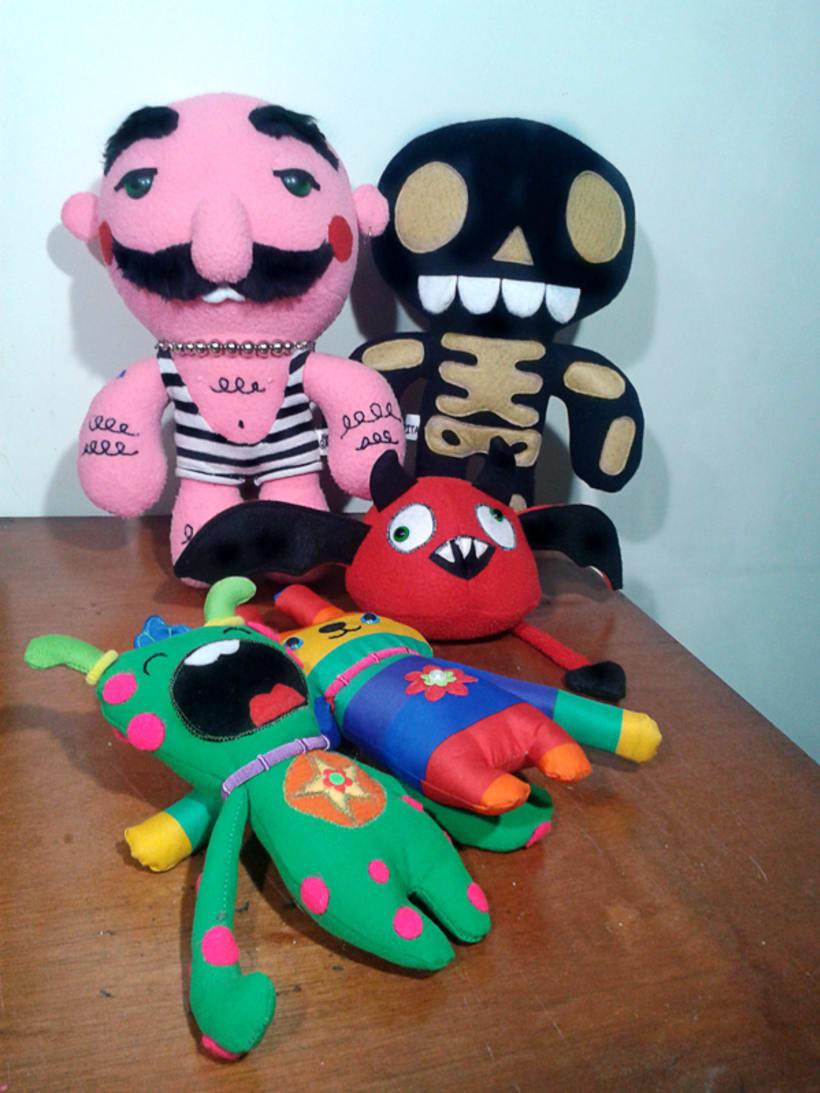 Mi Proyecto del curso: Textile Toys: diseño y creación de personajes en tela 3