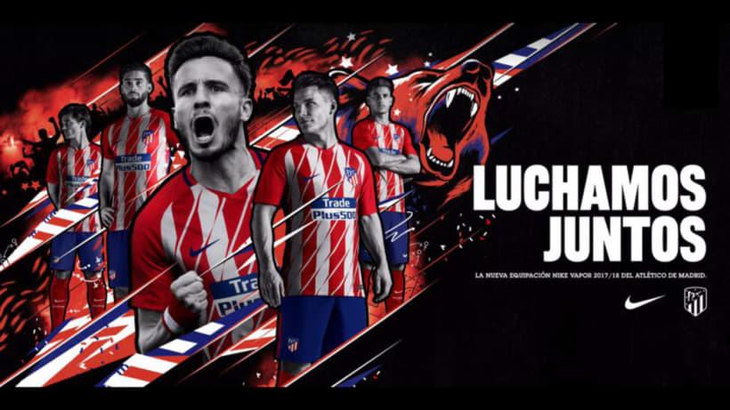 Nike Football: Atlético de Madrid Shirt Launch  -1