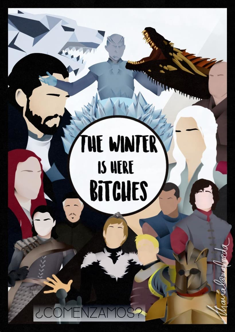 The winter is here -1