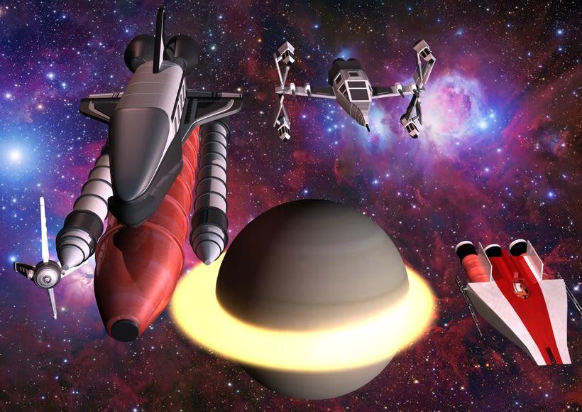 3D - ENDURANCE - Interstellar 0