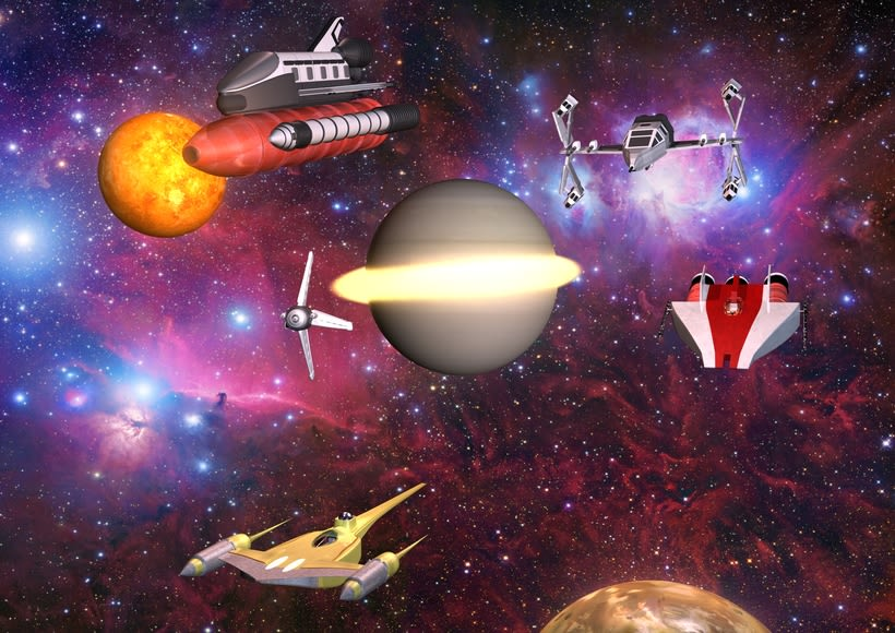 3D - ENDURANCE - Interstellar 1