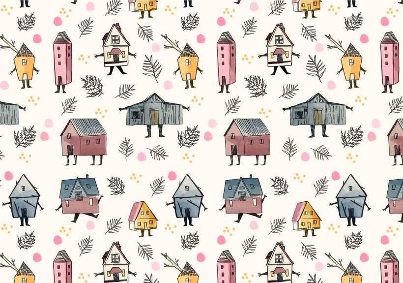 Mi Proyecto del curso: Diseño de estampados textiles 2