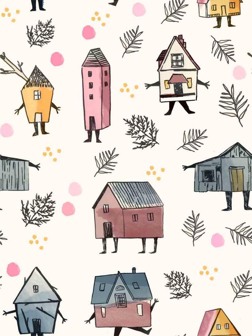 Mi Proyecto del curso: Diseño de estampados textiles 3