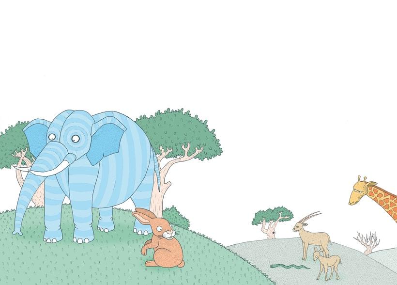 Proyecto Final CFGS Ilustración. PREMI TARONJA 2012. Fábulas de ayer, de hoy y siempre 2