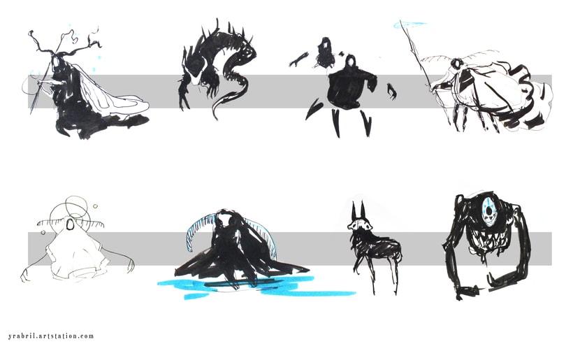 The Silimous - Concept Art - criaturas 1