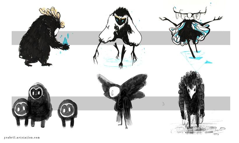 The Silimous - Concept Art - criaturas 2