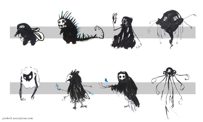 The Silimous - Concept Art - criaturas 3