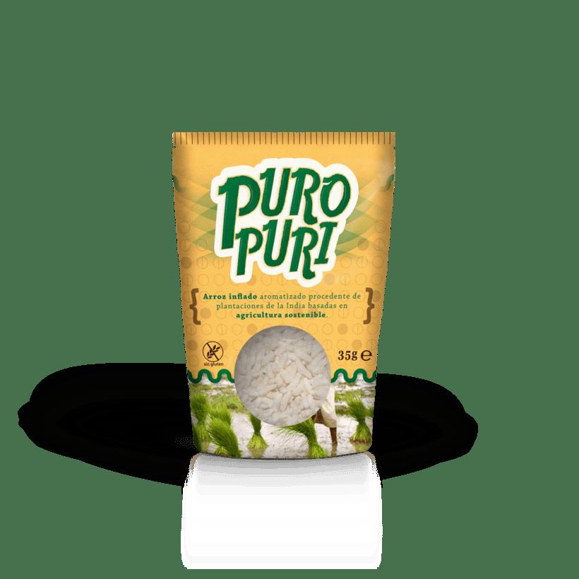 PuroPuri | Puffed Rice Snack 1