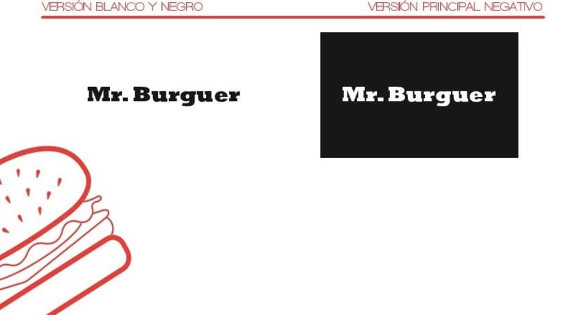 Manual de identidad Mr. burguer 2