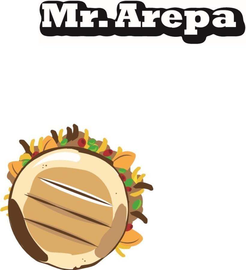 Manual de identidad Mr. Arepa  0