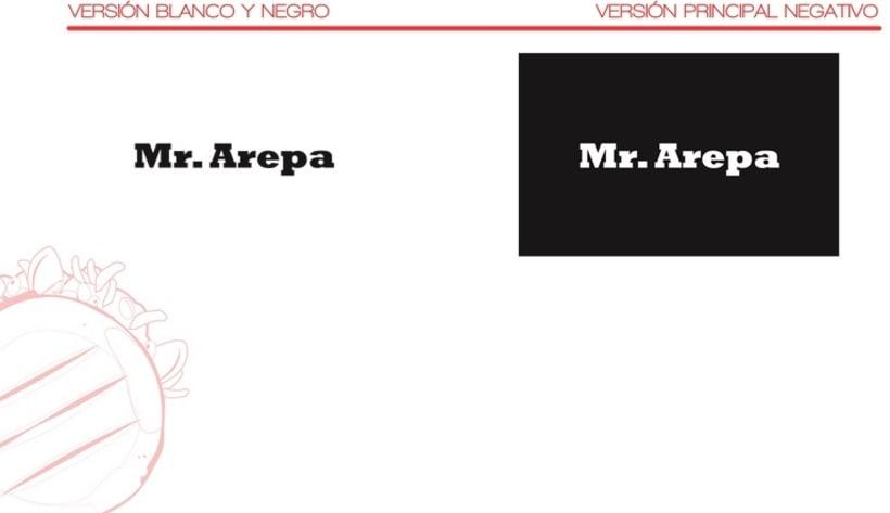 Manual de identidad Mr. Arepa  1
