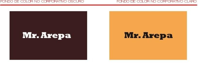 Manual de identidad Mr. Arepa  3
