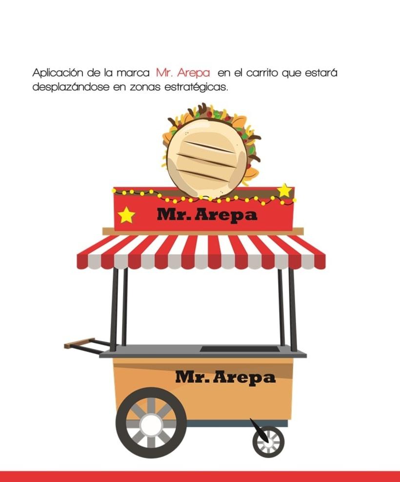Manual de identidad Mr. Arepa  4