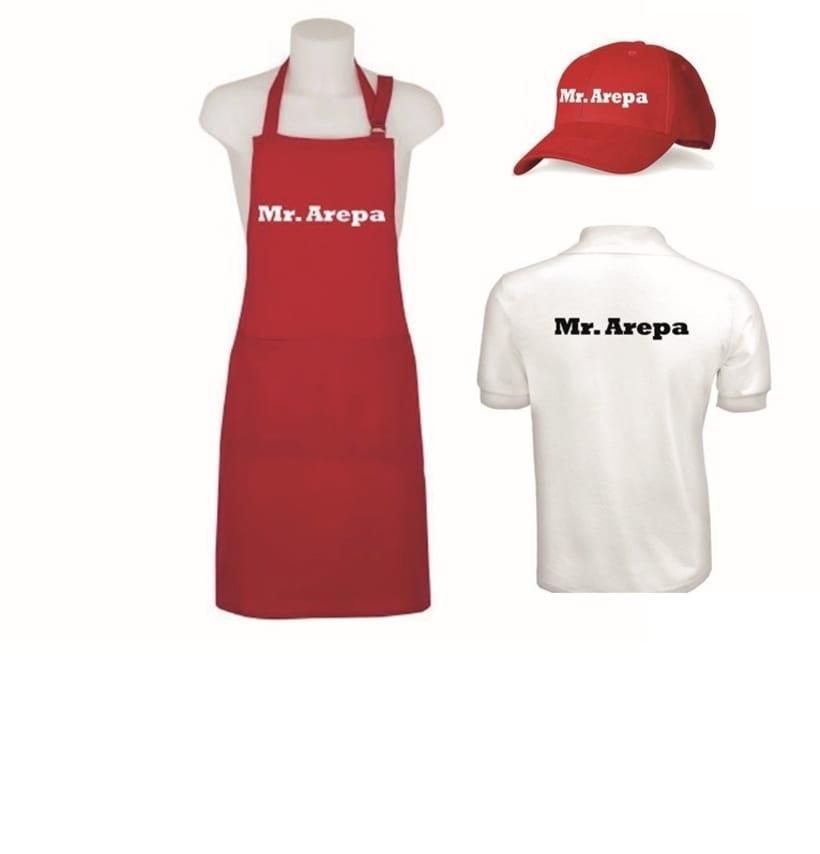Manual de identidad Mr. Arepa  5
