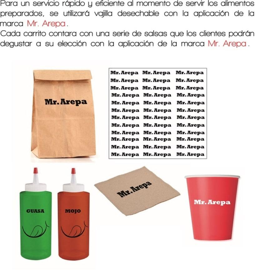Manual de identidad Mr. Arepa  7