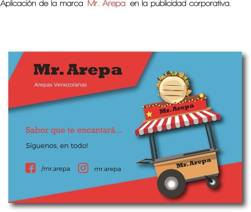 Manual de identidad Mr. Arepa  8