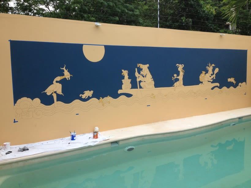 Casa Mextli / Pintura Mural 0