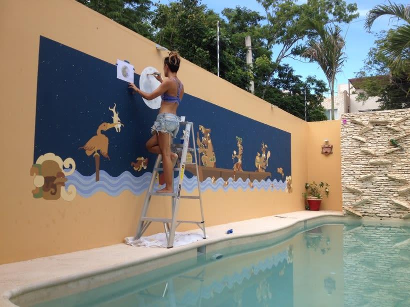 Casa Mextli / Pintura Mural 2