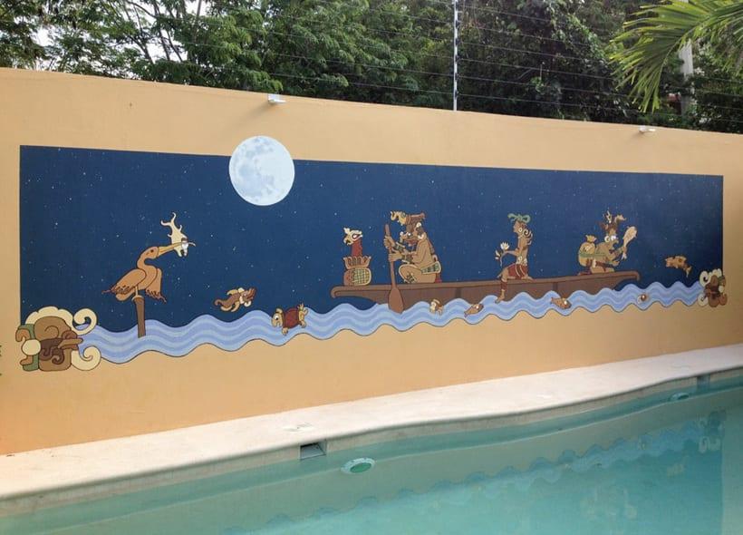 Casa Mextli / Pintura Mural 7
