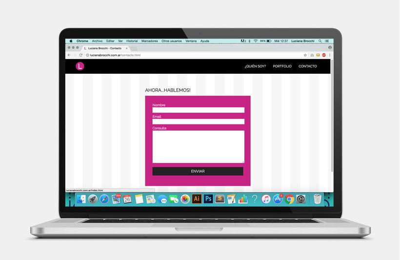Diseño y Desarrollo de mi sitio web 4