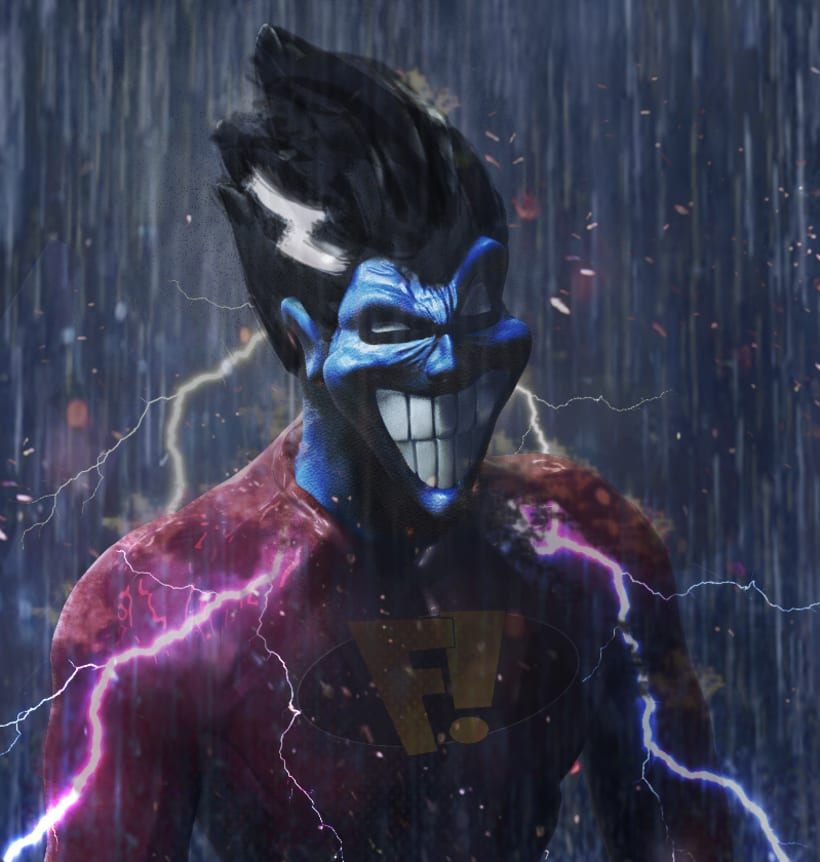 Freakazoid fan art  -1