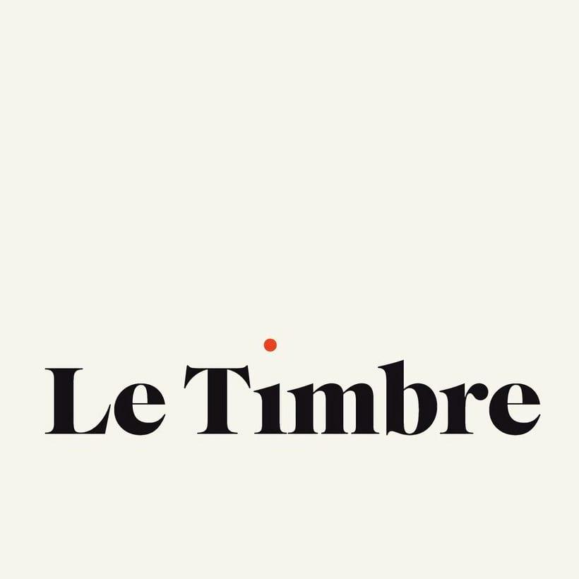 Le Timbre: mecenazgo exclusivo por suscripción 1