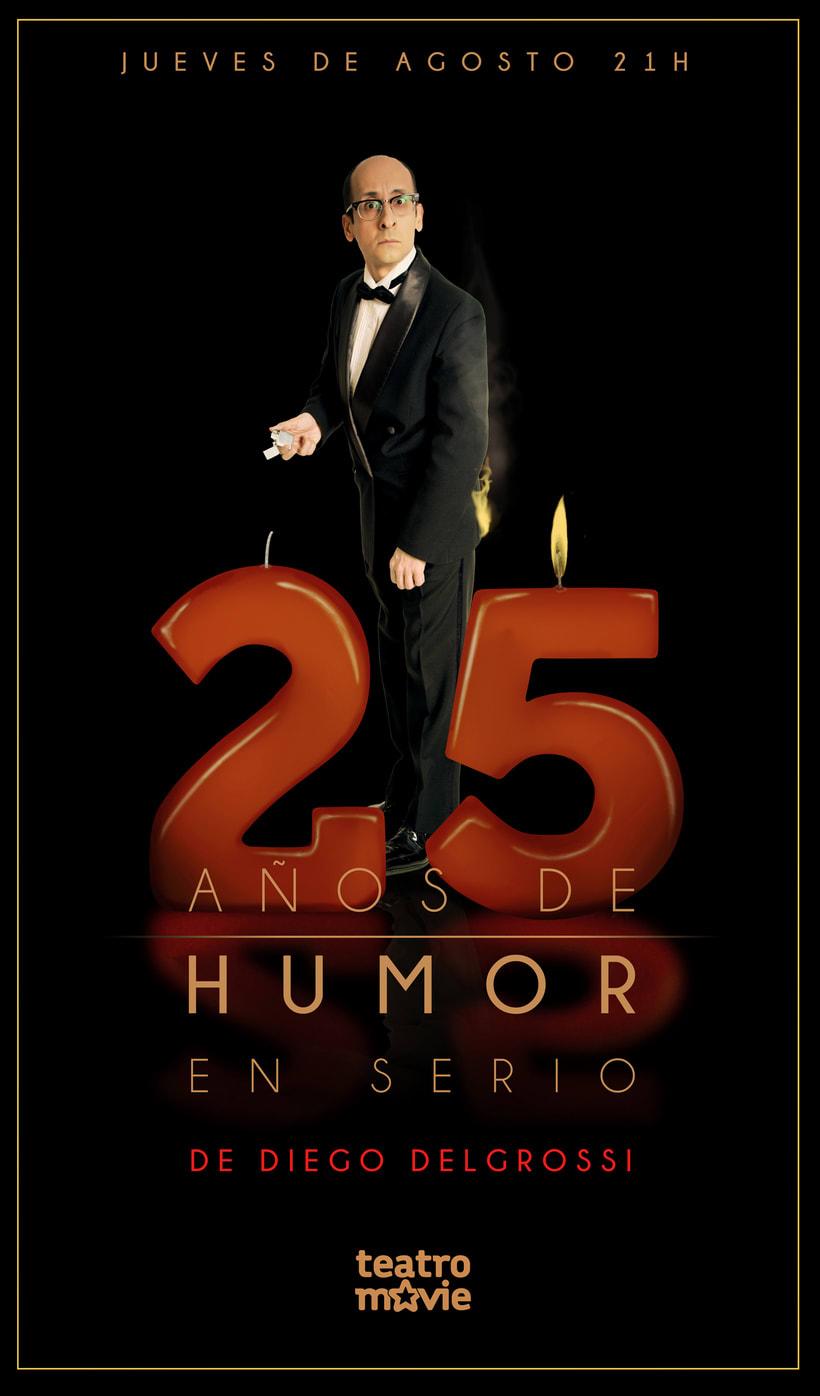 Poster 25 años de humor -1