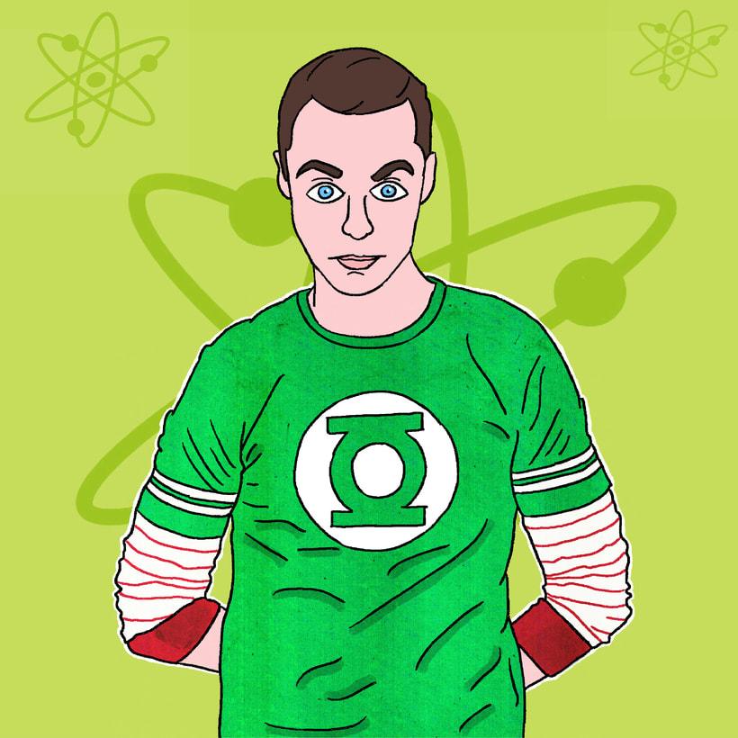 Mi Proyecto del curso: Ilustración de personajes para prensa -1