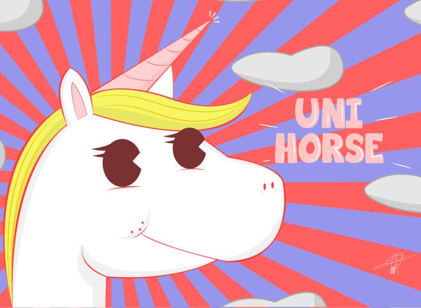 Uni Horse -1