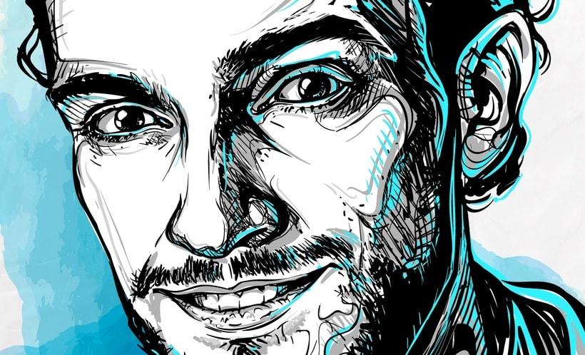 Retrato Charlie Cancino 1