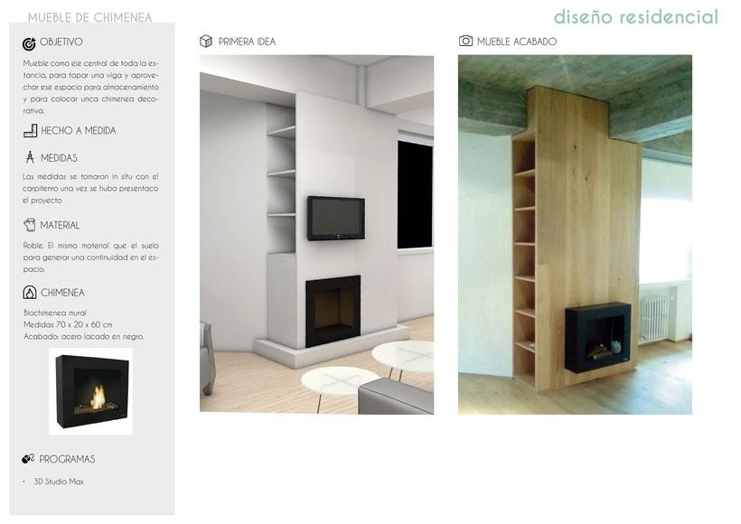 Mueble de Chimenea -1