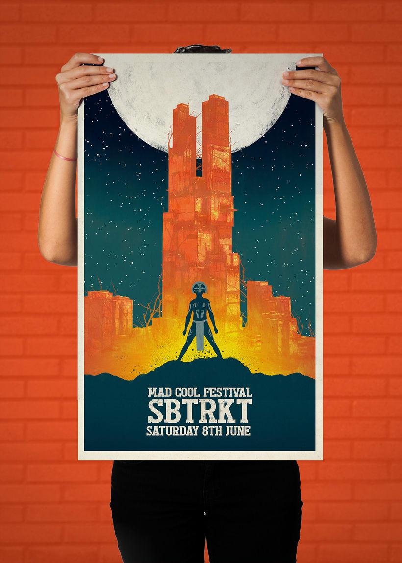 SBTRKT Mad Cool Poster 1