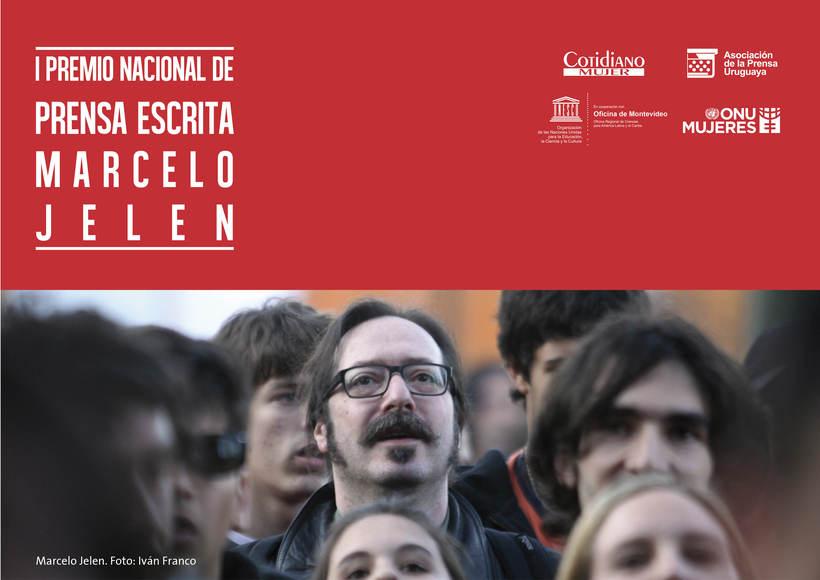 I Premio Nacional de Periodismo Marcelo Jelen: Diseño de Indentidad Corporativa (2017) 0