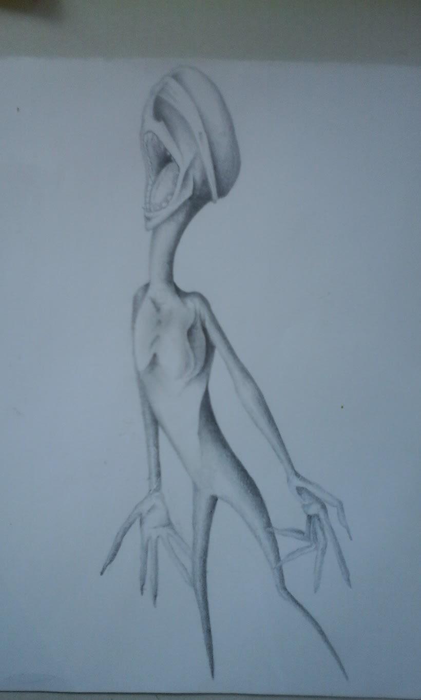 Bestiario (bocetos) 1