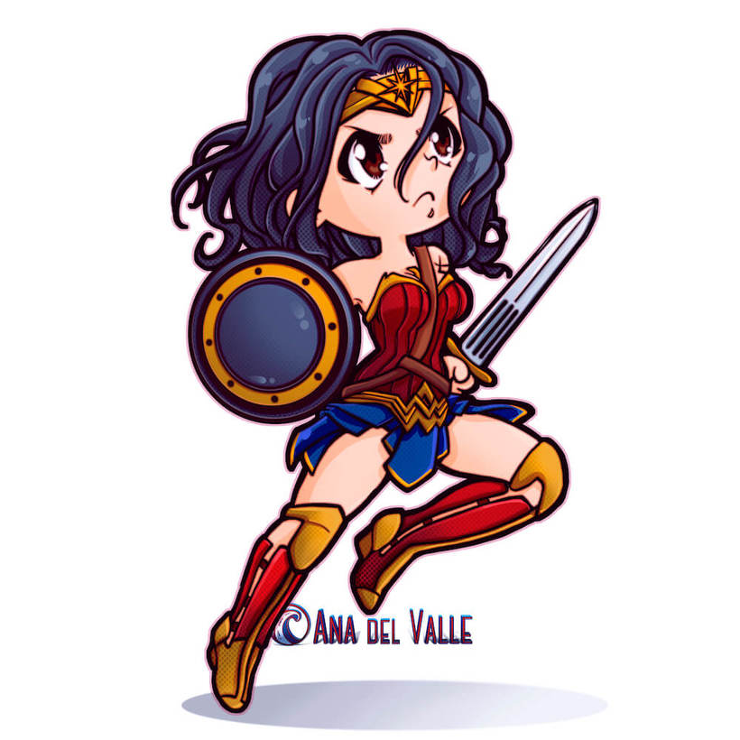 My Little Wonder Woman 0