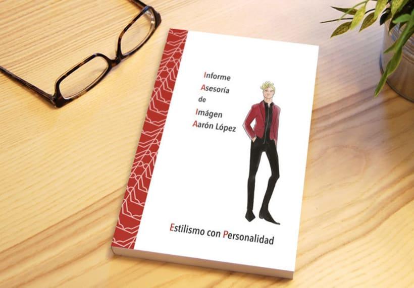 Diseño y maquetación libro informe asesoría de imágen -1