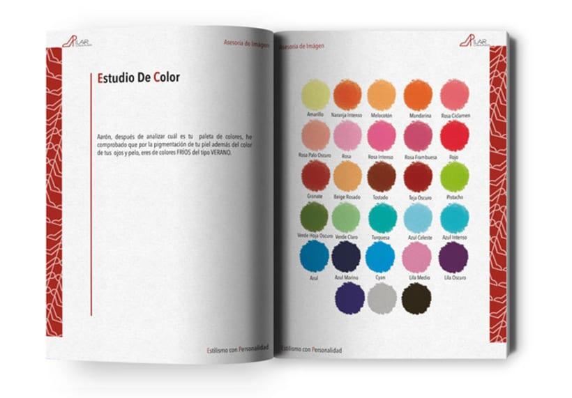 Diseño y maquetación libro informe asesoría de imágen 0