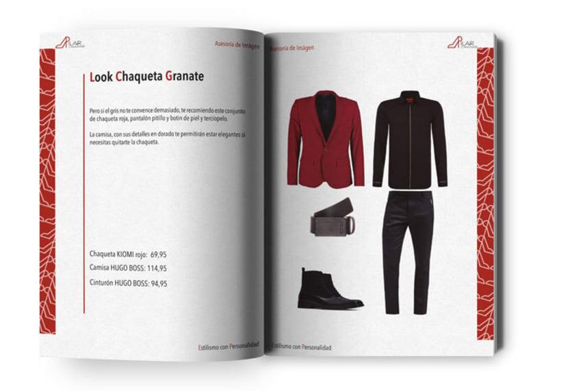 Diseño y maquetación libro informe asesoría de imágen 1